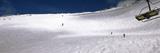 Tourists Skiing  Snowbird Ski Resort  Utah  USA