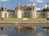 Reflection of a Castle in a River  Chateau Royal De Chambord  Loire-Et-Cher  Loire Valley  Loire