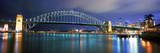 Sydney Harbour Bridge with the Sydney Opera House in the Background  Sydney Harbor  Sydney  New