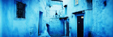 Narrow Streets of the Medina are All Painted Blue  Chefchaouen  Morocco