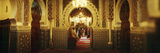 Entrance to the University Mosque Zaouia Moulay Idriss Ii in Medina  Fez  Morocco