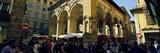 Crowd at a Street Market  Mercato Nuovo  Florence  Tuscany  Italy