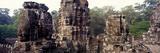 Ruins of a Temple  Bayon Temple  Angkor Thom  Siem Reap  Angkor  Cambodia