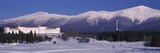 Hotel Near Snow Covered Mountains  Mt Washington Hotel Resort  Mount Washington  Bretton Woods 