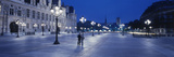 Hotel De Ville and Notre Dame Cathedral Paris France