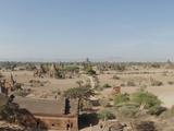 Temples and Stupas at Dawn  Bagan  Mandalay Region  Myanmar
