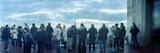 Tourists at an Observation Point  Rockefeller Center  Manhattan  New York City  New York State  USA