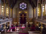 Interiors of a Synagogue  Stockholm Synagogue  Stockholm  Sweden