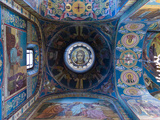Interiors of a Church  Church of the Savior on Spilled Blood  St Petersburg  Russia
