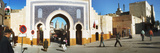Entrance to the Medina  Fez  Morocco