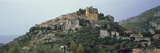Town on the Mountain Peak  Eze  Alpes-Maritimes  Provence-Alpes-Cote D&#39;Azur  France