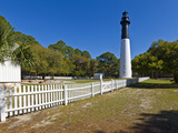 Lighthouse in a Park  Hunting Island State Park  Beaufort  South Carolina  USA