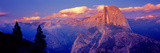 Sunlight Falling on a Mountain  Half Dome  Yosemite Valley  Yosemite National Park  California  USA
