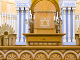 Altar of a Synagogue  Grand Choral Synagogue  St Petersburg  Russia