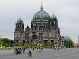 Berlin Cathedral with Berlin Television Tower in the Background  Berlin  Germany