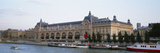 Museum on a Riverbank  Musee D'Orsay  Paris  France