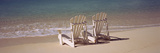 Adirondack Chair on the Beach  Bahamas