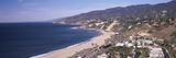 High Angle View of a Beach  Highway 101  Malibu Beach  Malibu  Los Angeles County  California  USA