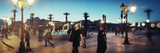 Tourists at a Town Square in Rabat  Morocco