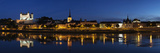 Reflection of Buildings in a River  Saumur Castle  Maine-Et-Loire  Pays De La Loire  Loire Valle