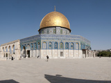Town Square  Dome of the Rock  Temple Mount  Jerusalem  Israel