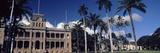 Facade of a Palace  Iolani Palace  Honolulu  Oahu  Honolulu County  Hawaii  USA