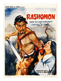 Rashomon  Japanese Movie Poster