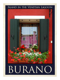 Burano Window  Italy  25