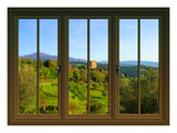 View from the Window Castello Di Ripa D'Orcia  Tuscany