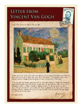 Letter from Vincent: White House at Night