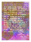 1 Corinthians 13:1-3