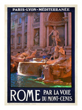 Trevi Fountain  Roma Italy 4