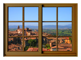 View from the Window at Montalcino  Tuscany