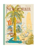 The New Yorker Cover - August 7  1995