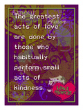 The Greatest Acts of Love