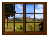 View from the Window at San Gimignano  Tuscany