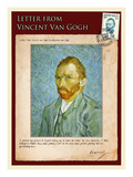 Letter from Vincent: Self-Portrait2