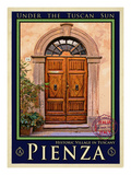 Door in Pienza Tuscany 5