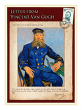Letter from Vincent: Portrait of the Postman Joseph Roulin