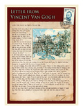 Letter from Vincent: Old Vineyard with Peasant Woman