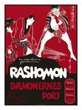 Japanese Movie Poster - Rashomon in Norway
