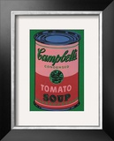 Colored Campbell&#39;s Soup Can  c1965 (red &amp; green)