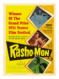Japanese Movie Poster - Rashomon in English