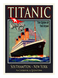 Titanic White Star Line Travel Poster 3