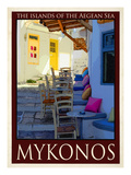 Alleyway in Mykonos Greece 3