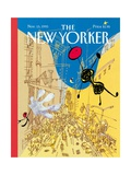 The New Yorker Cover - November 15  1993