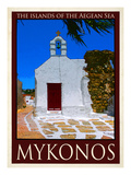 Church in Mykonos Greece 1