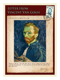 Letter from Vincent: Salf-Portrait1