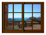 View from the Window at Siena  Tuscany