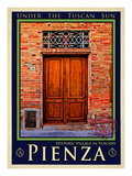 Door in Pienza Tuscany 6